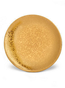 gold alchimie bread and butter plate
