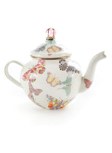 butterfly 4 cup tea pot