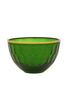 emerald gallery medium glass serving bowl