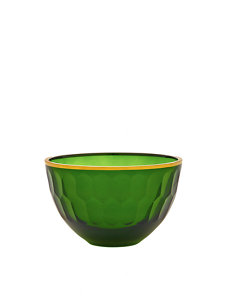 emerald gallery small glass serving bowl