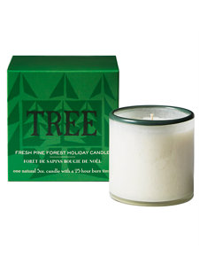 holiday tree mini candle