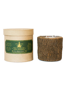 gumboots for winter large bark candle