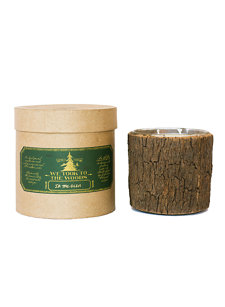 in the glen large bark candle