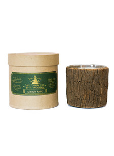 whiskey river large bark candle