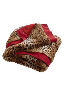 kirkwall leopard throw