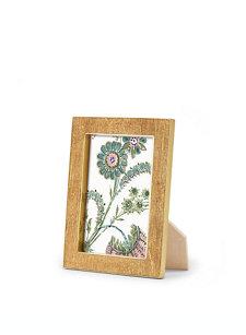 gold linen frame 4x6
