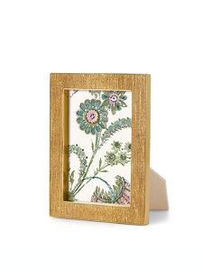gold linen frame 5x7