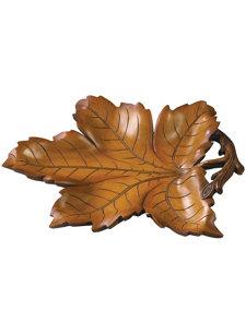 leaf tray brown