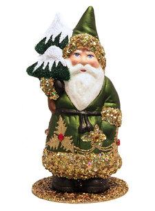 small santa holly