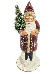 small santa snowflake