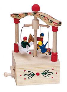 children's carrousel music box