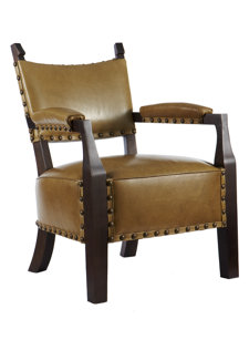 eliza leather chair