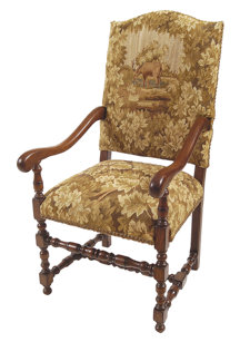 stag arm chair